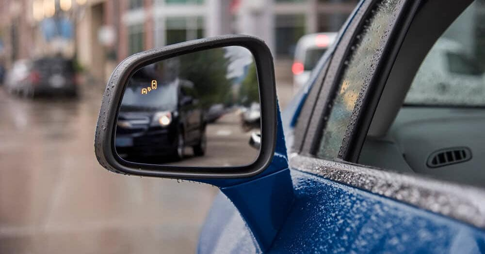 Chevrolet Trax Side Blind Zone Alert