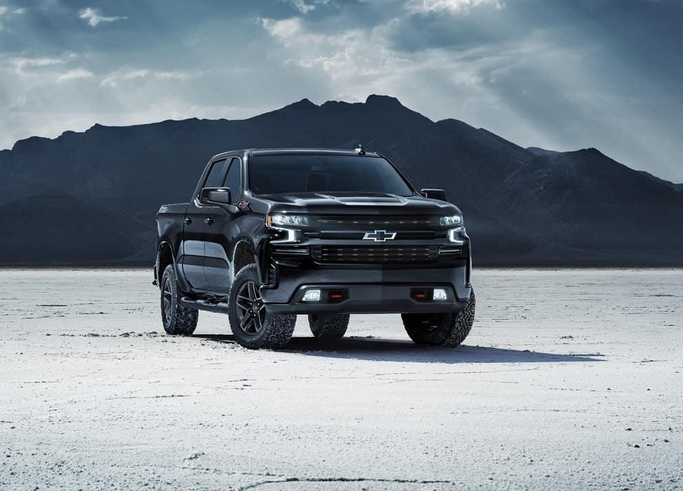 Black 2020 Chevrolet Silverado 1500