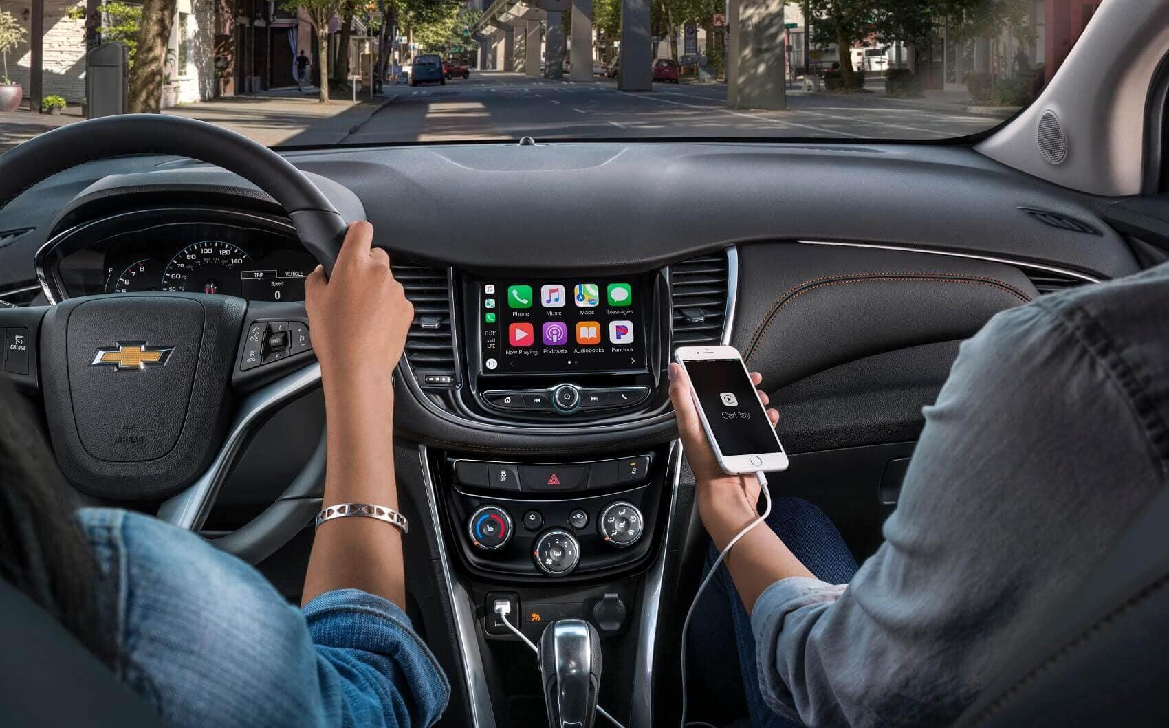 Chevrolet Trax Interior with Apple CarPlay® Technology