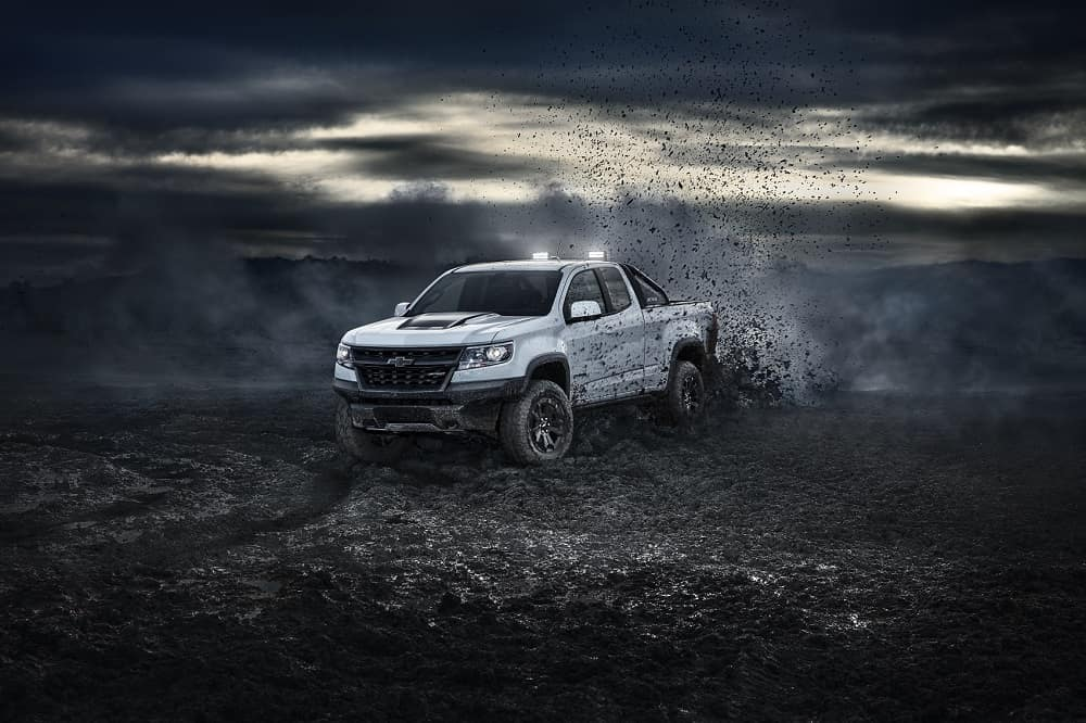 2021 Chevy Colorado Off-Roading Power