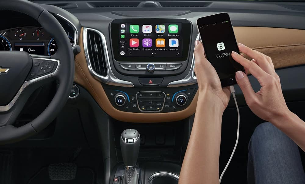 2020 Chevy Equinox with Apple CarPlay® Technology
