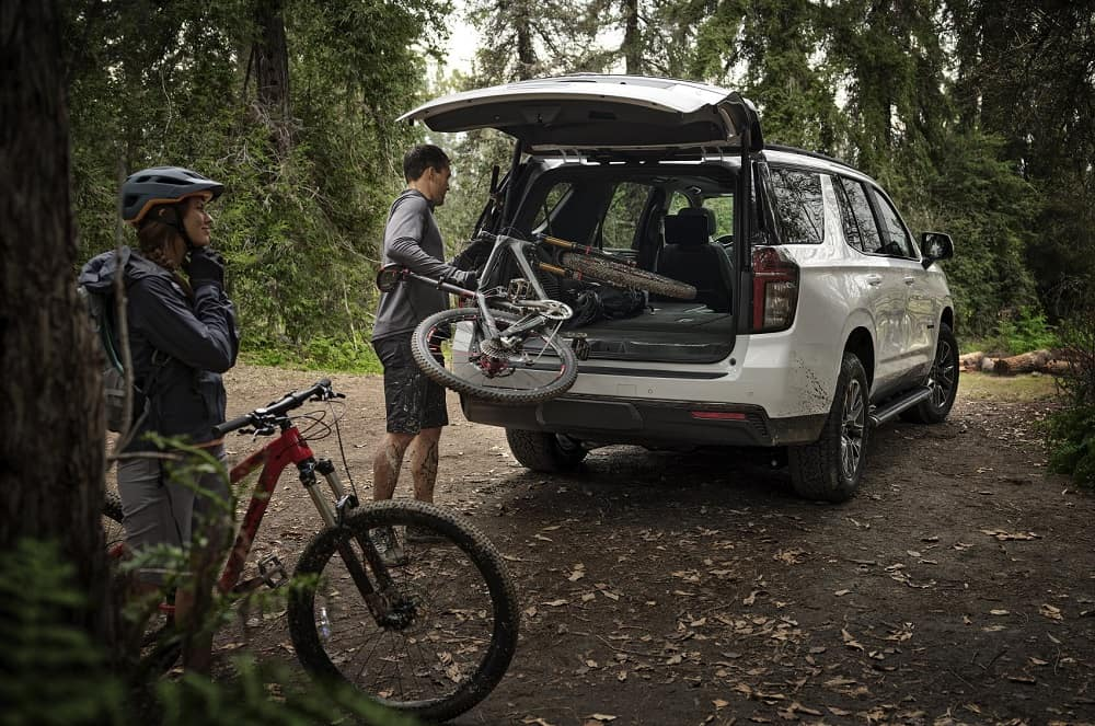 Family Packing 2021 Chevrolet Tahoe Cargo Space