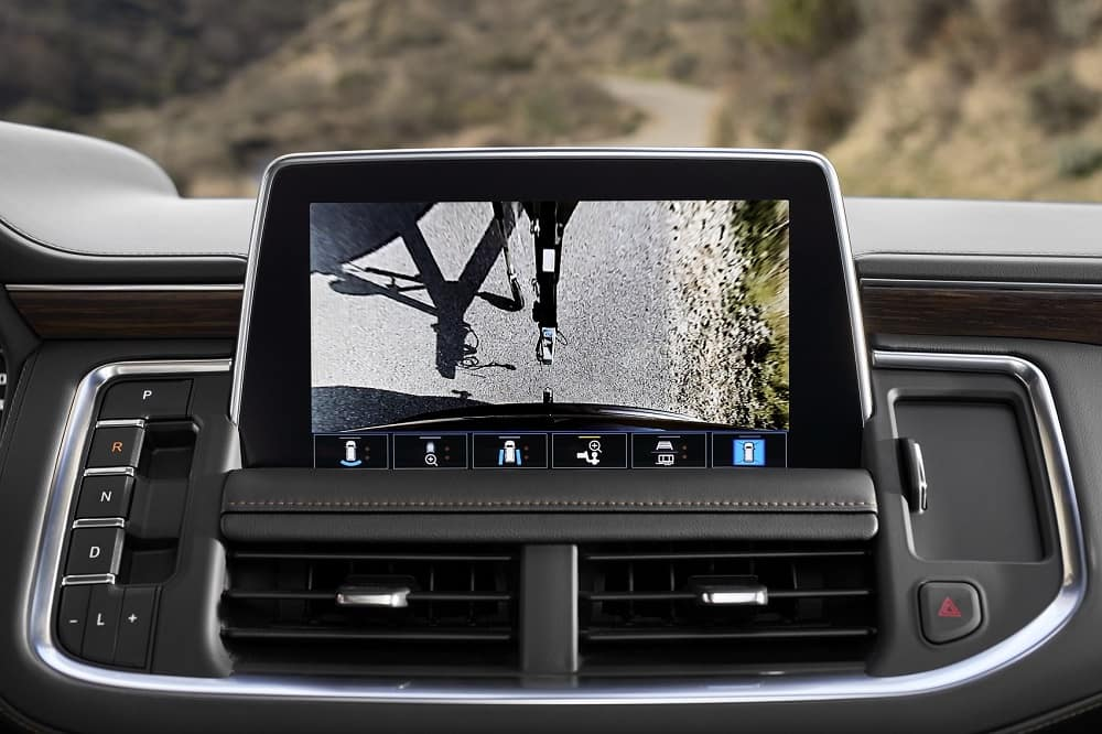 2021 Chevrolet Tahoe Camera for Trailer Hitch