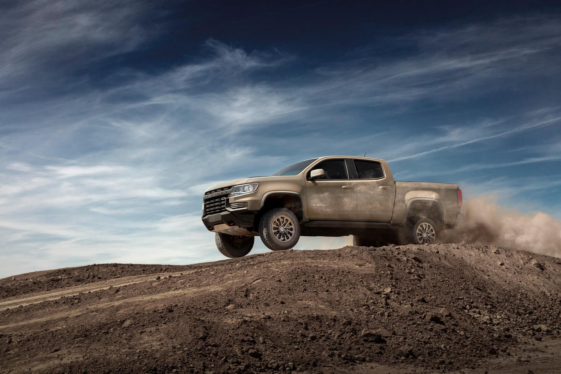 2021 Chevy Colorado Off-Roading Performance