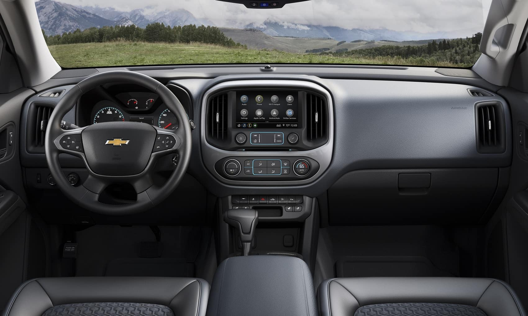 2021 Chevy Colorado Interior Technology
