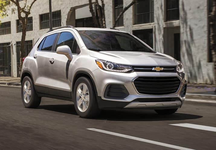 Chevy Trax Trim Levels