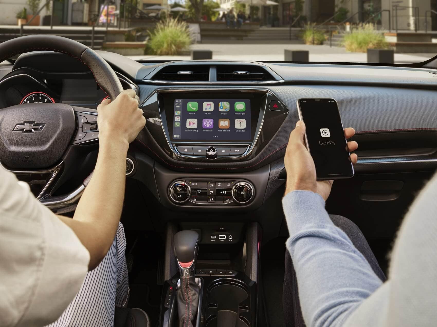 2021 Chevrolet Trailblazer Interior with Apple CarPlay®Technology