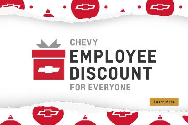 employee discount banner