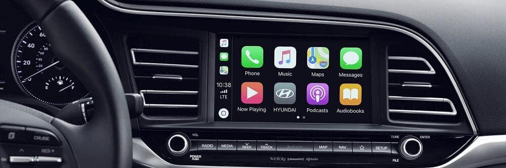 2020 Hyundai Elantra with Apple CarPlay® Technology
