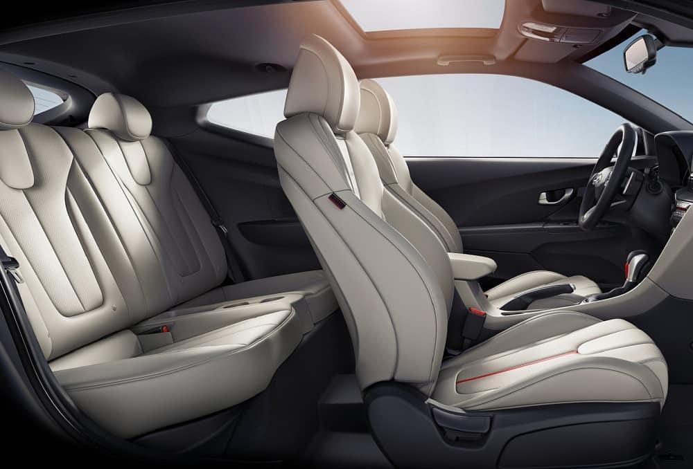Hyundai Veloster Interior Space