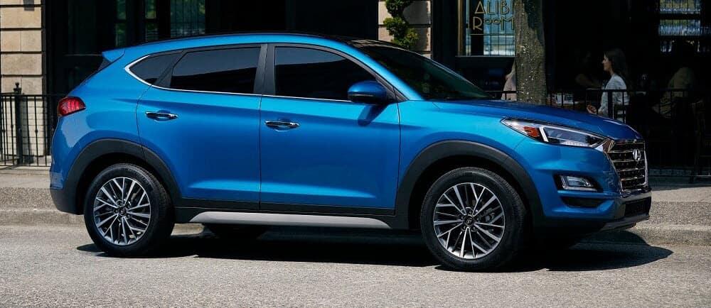 Hyundai Tuscon Length