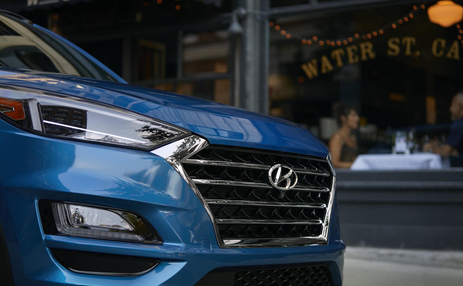 2020 Hyundai Tuscon Blue