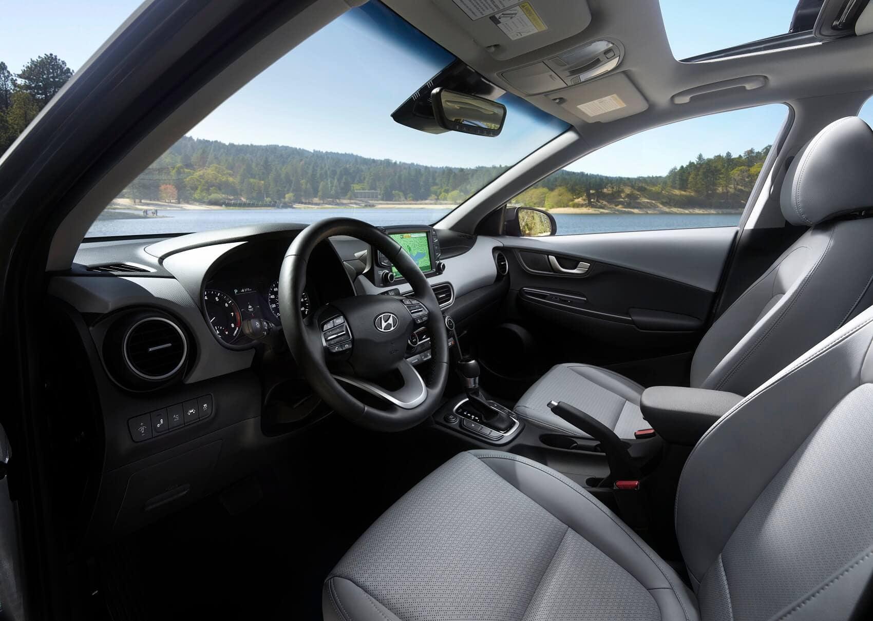 Hyundai Kona Interior Space