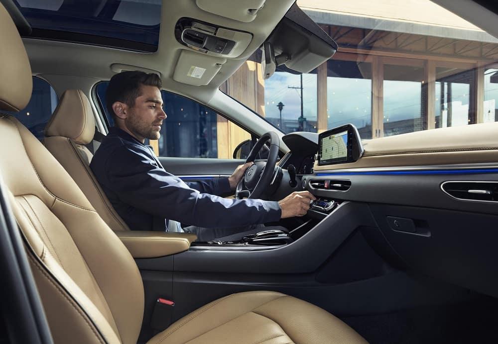 Hyundai Sonata Interior Space