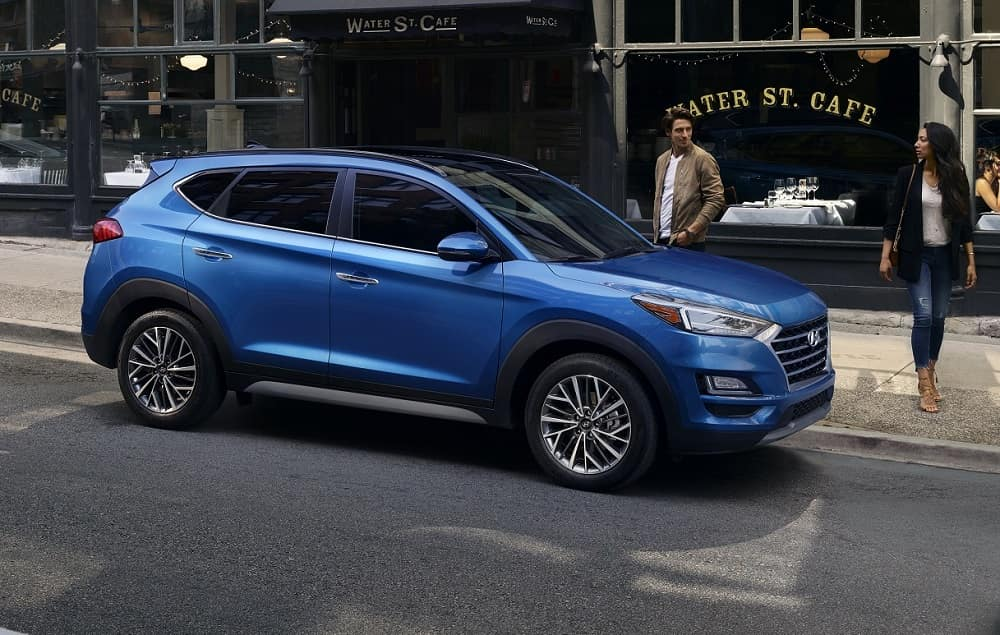 Hyundai Tuscon Blue