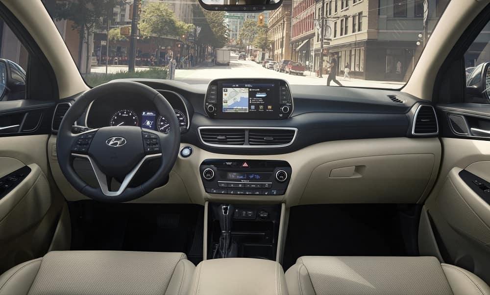 Hyundai Tuscon Interior