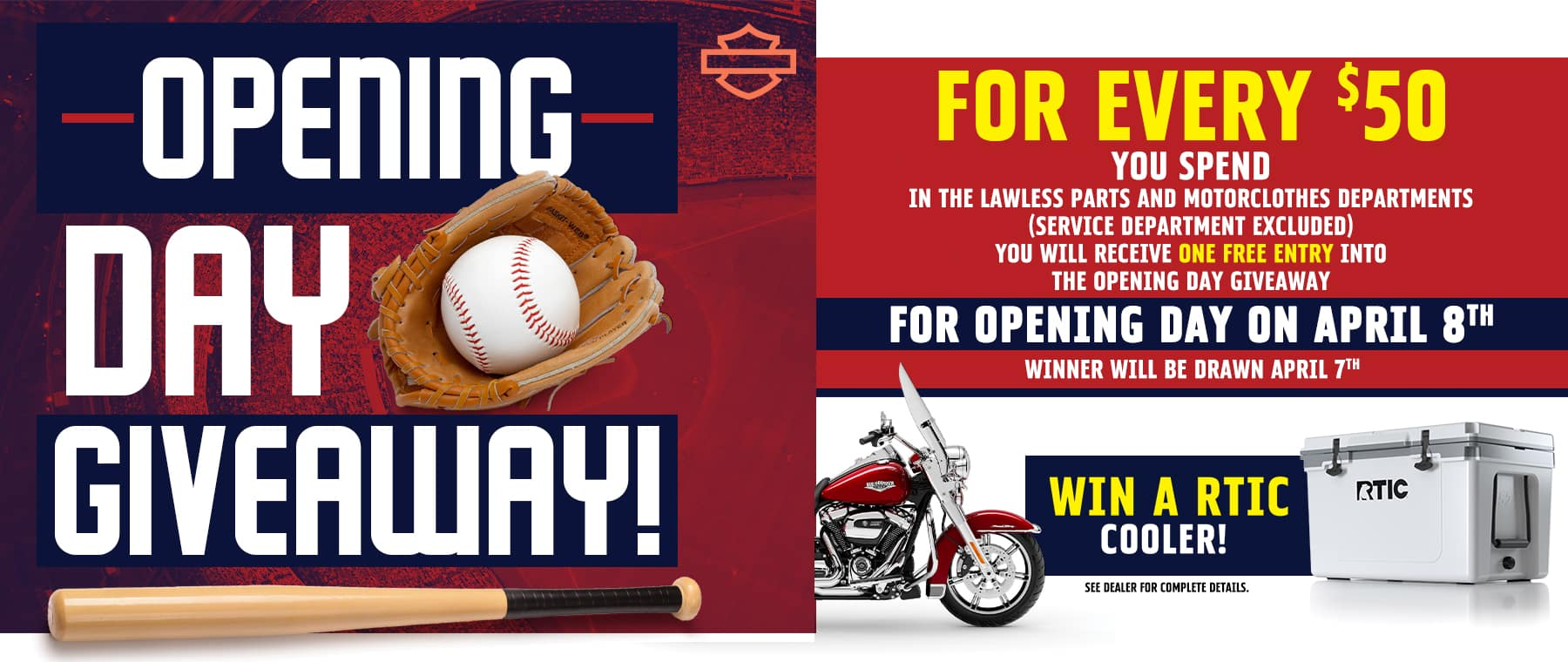 Opening Day Giveaway-Slide
