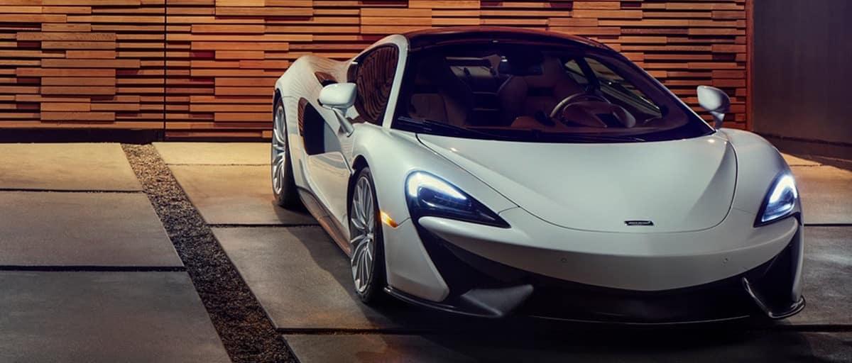 McLaren In Driveway