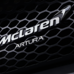 McLaren Artura name badge
