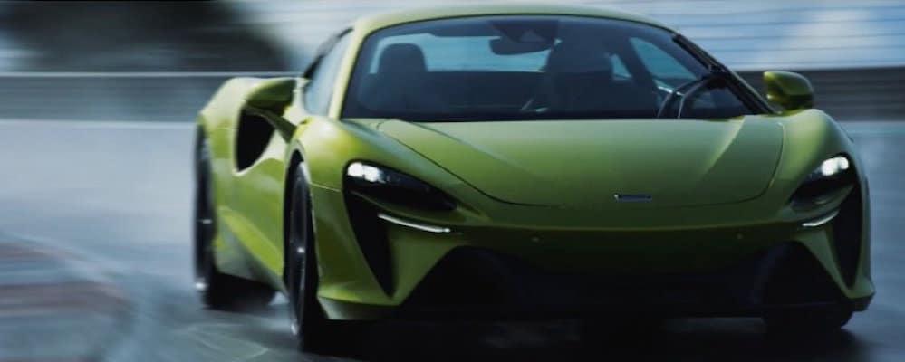 Green McLaren Artura