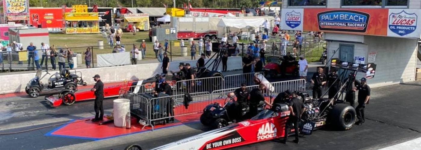 Palm Beach International Raceway drag strip track