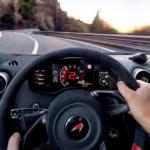 2021 McLaren 570S front seat POV