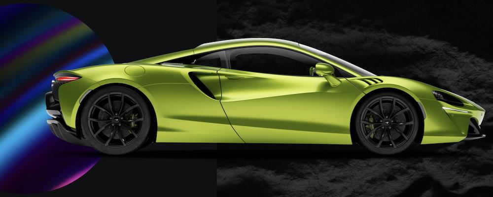 Green 2022 McLaren Artura