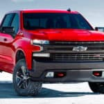 red 2021 Chevy Silverado Special Edition