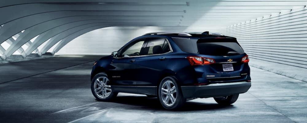 2021 Chevrolet Equinox in parking garage