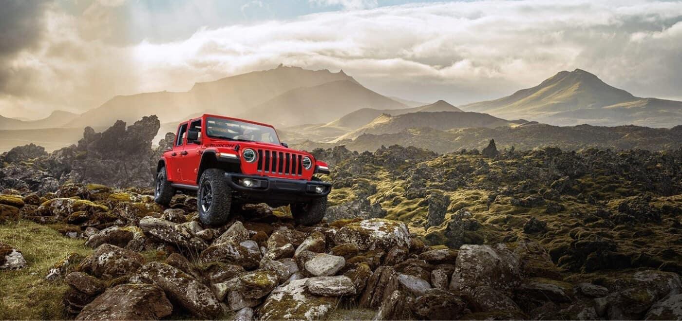 2021 Jeep Wrangler Rock Crawling