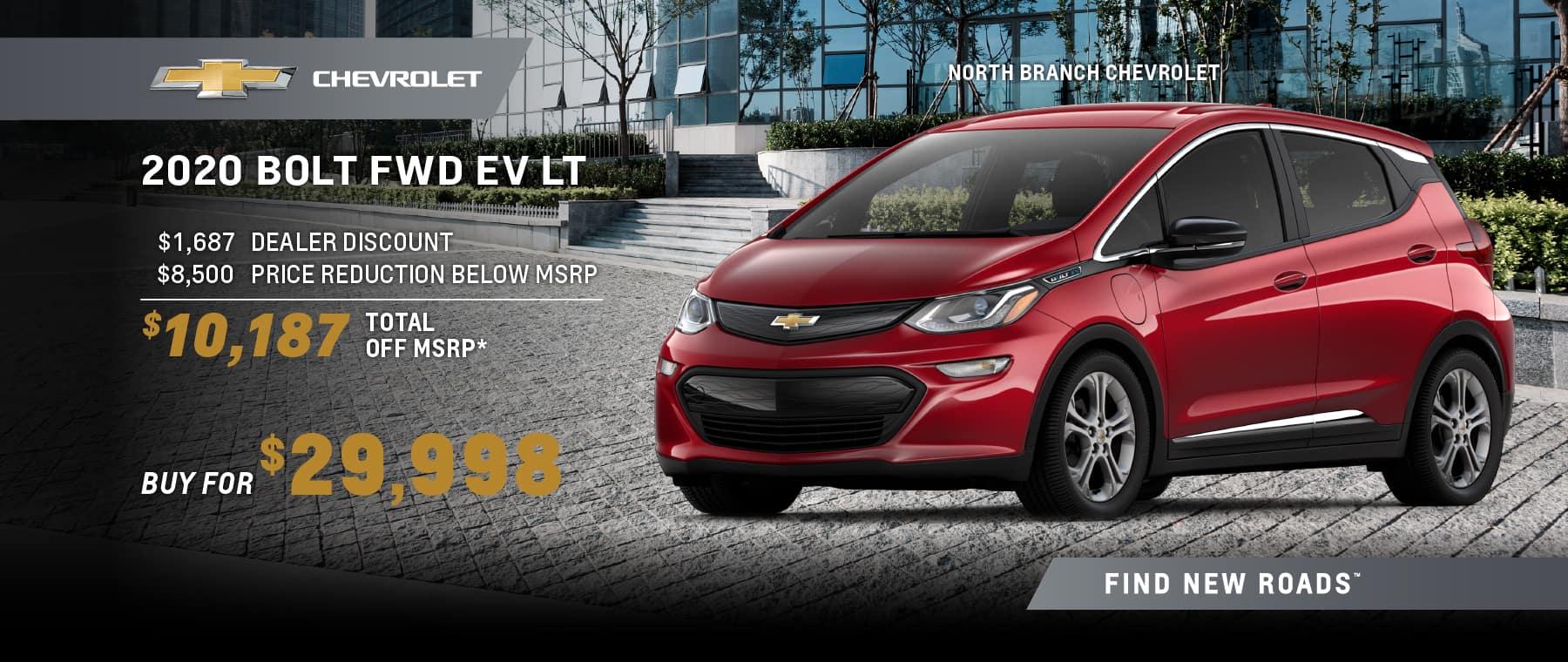 2020 BOLT FWD EV LT