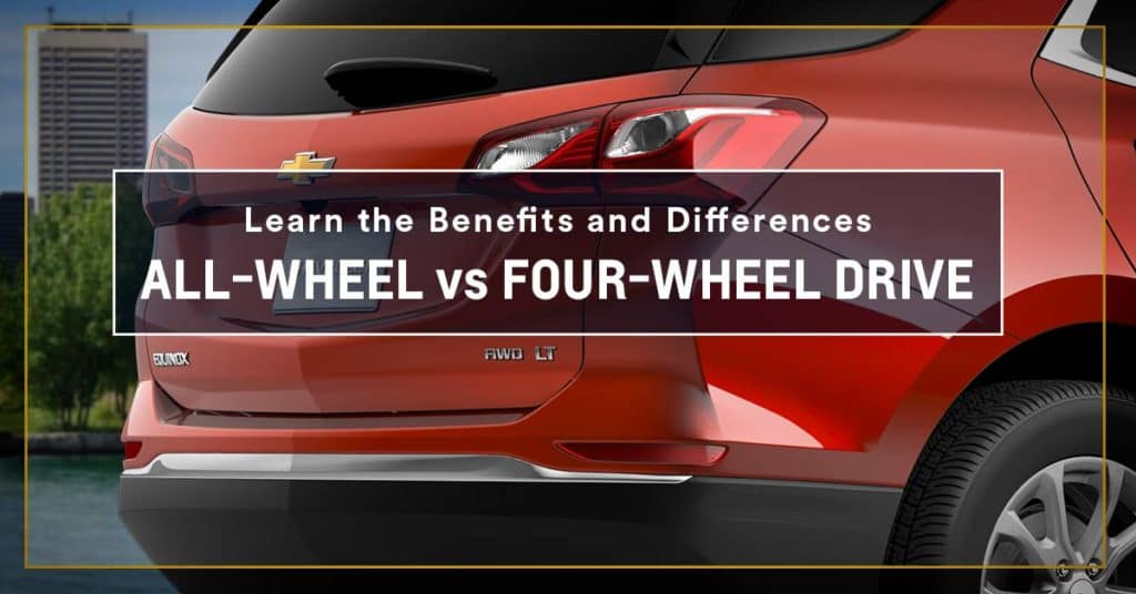 all-wheel drive four-wheel drive
