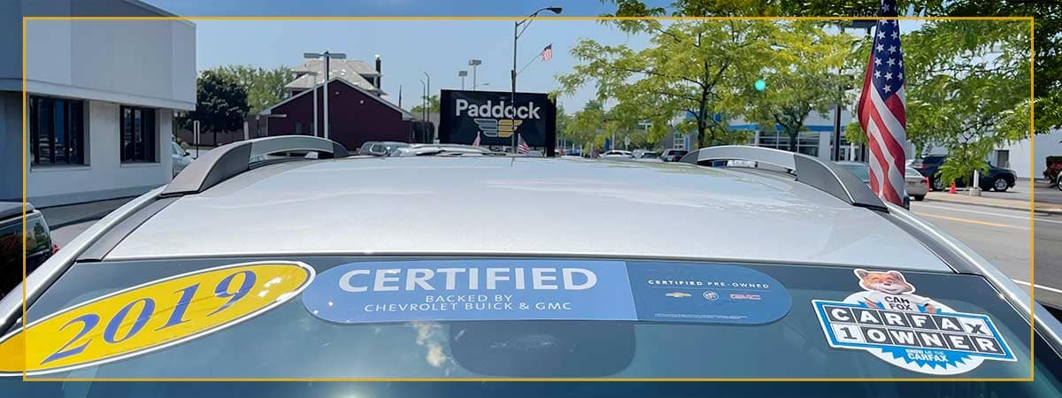 certified pre-owned paddock chevrolet