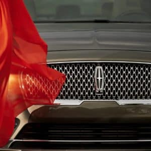 Grille of the 2020 Lincoln Continental