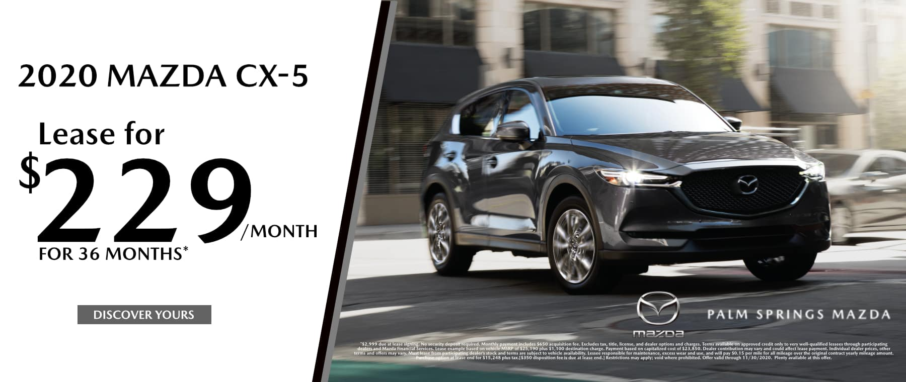 November-2020 CX5 Palm Springs Mazda