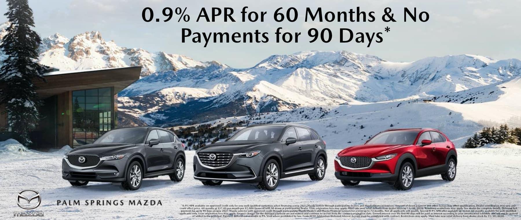 November-2020 General Palm Springs Mazda