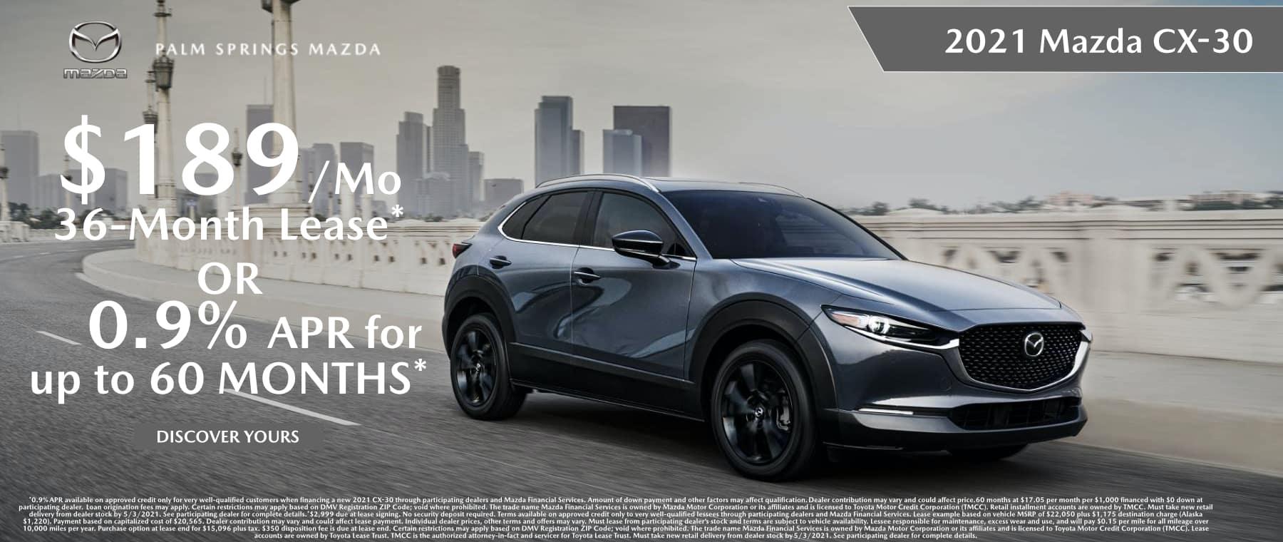 April_2021 Mazda CX-30
