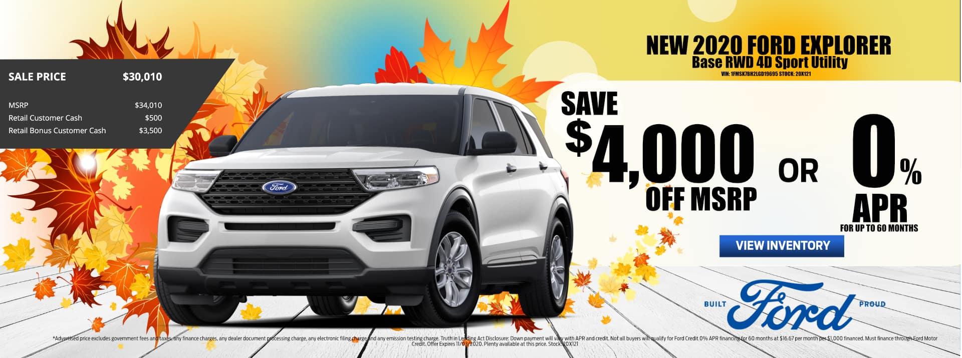 October-2020 Ford_Explorer_Sale_PMS