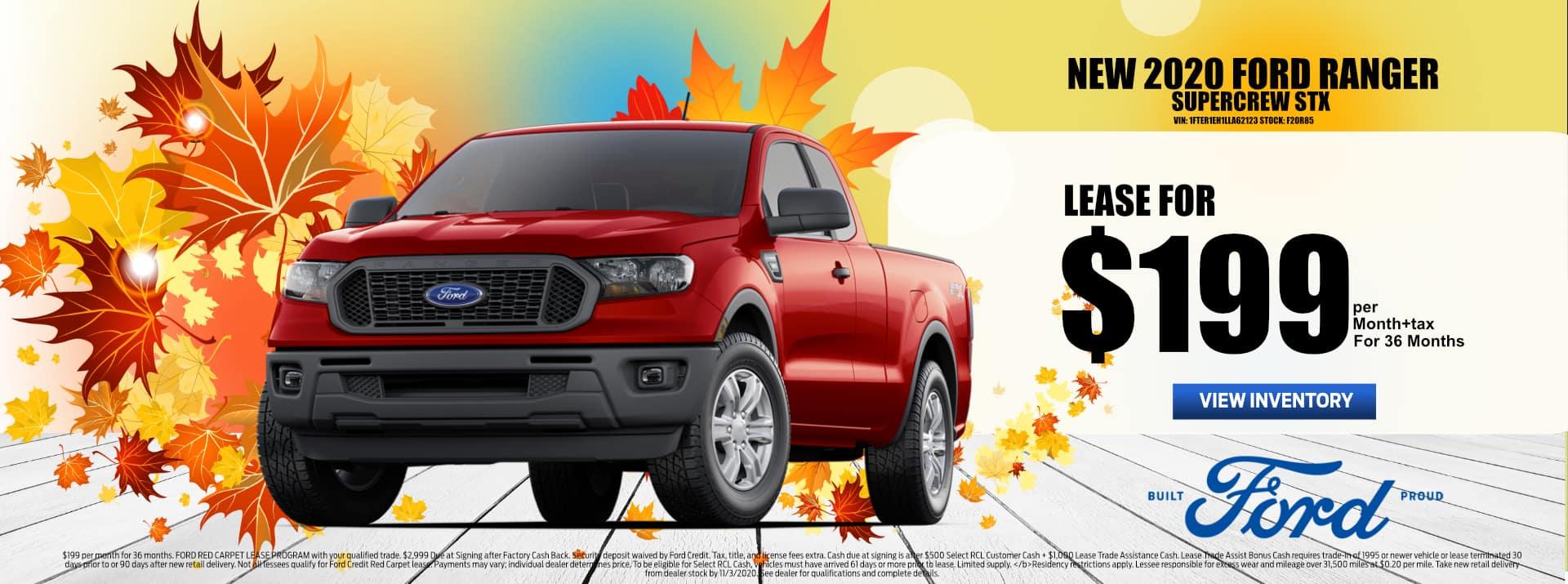 October-2020 Ford_Ranger_Lease_PMS