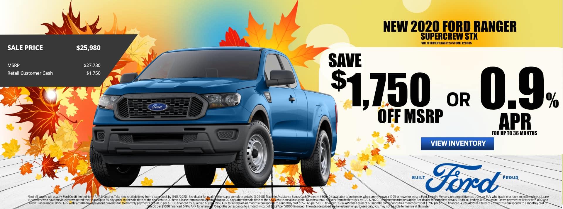 RR_October-2020 Ford_Ranger_Sale_PMS