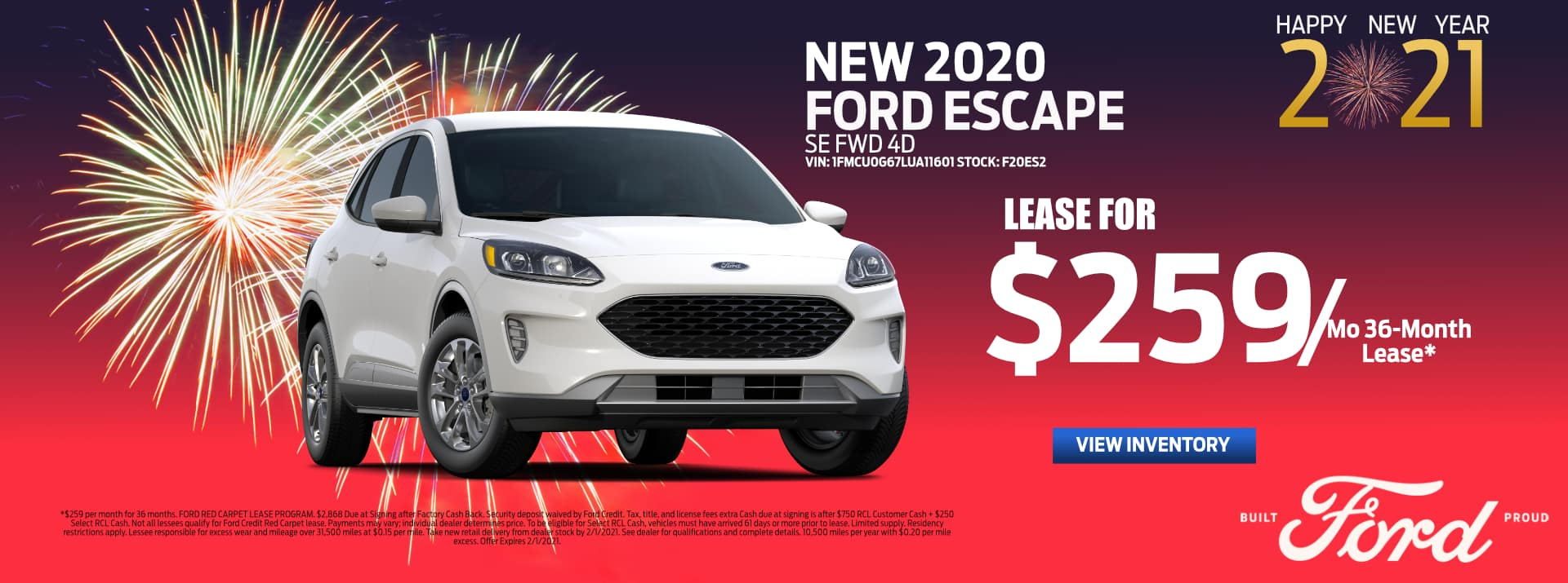 January-2021 Ford Escape Lease_Palm_Springs_Ford