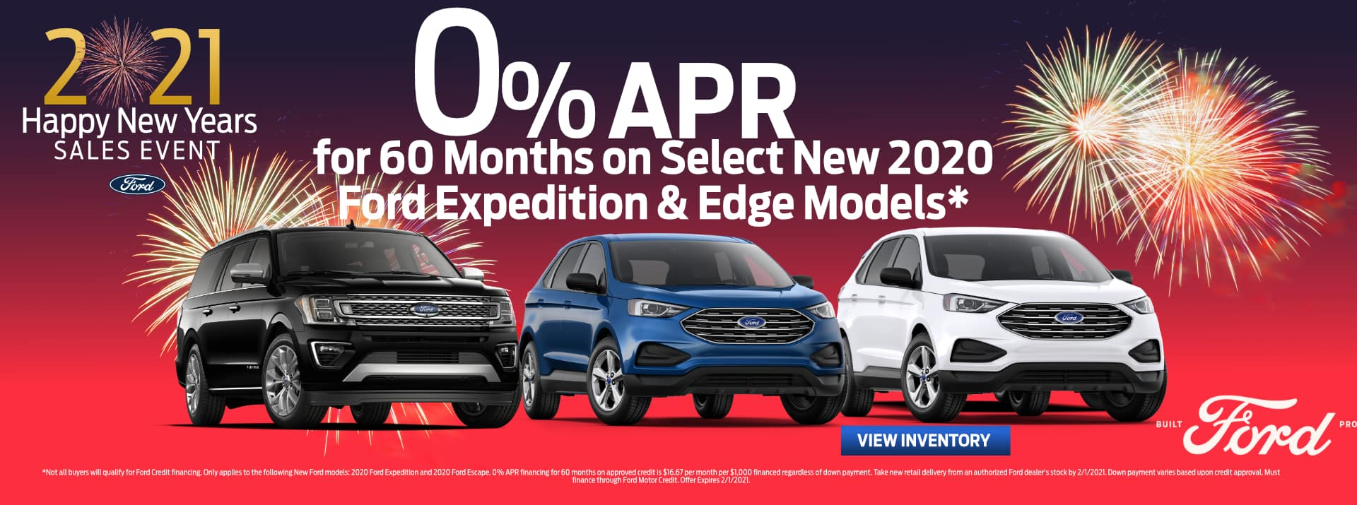 January-2021 Ford Expedition&Edge GENERAL Palm Springs FORD