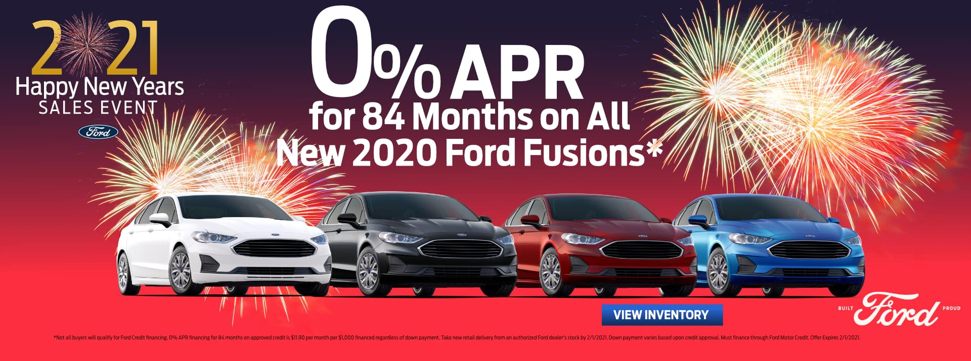 January-2021 Ford FUSION GENERAL Palm Springs Ford