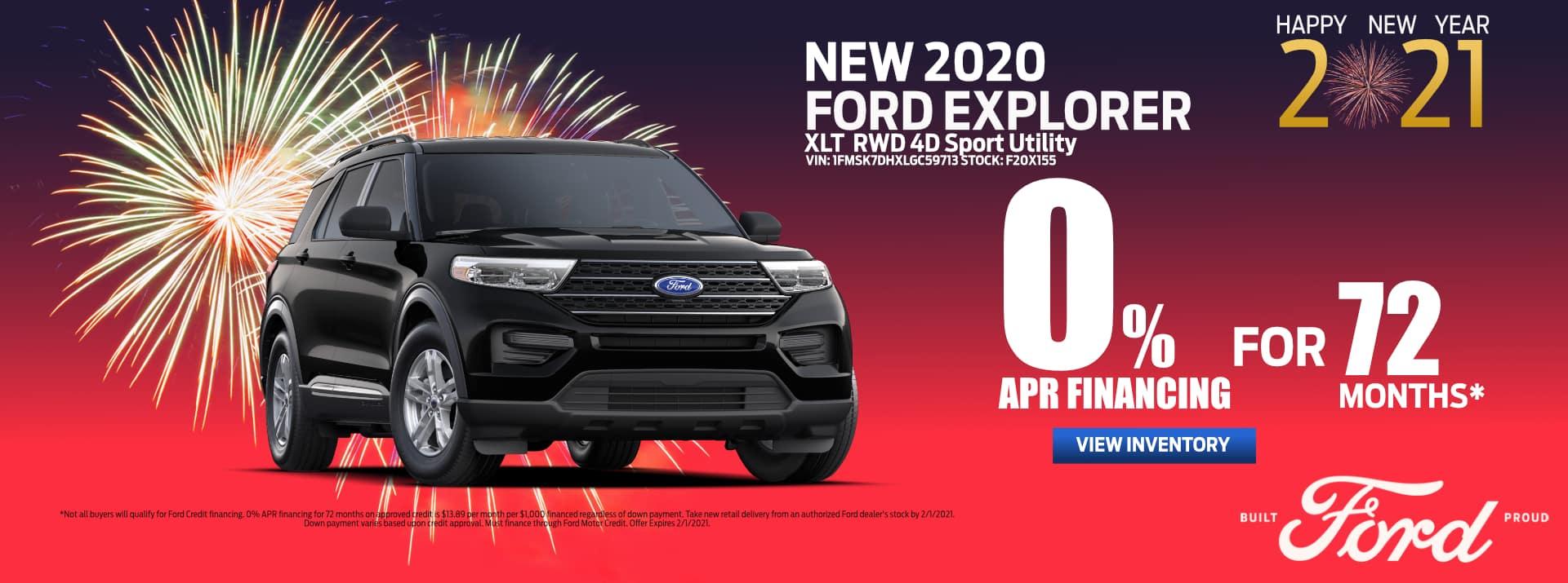 Revised_January-2021 Ford Explorer_APR_ PSM