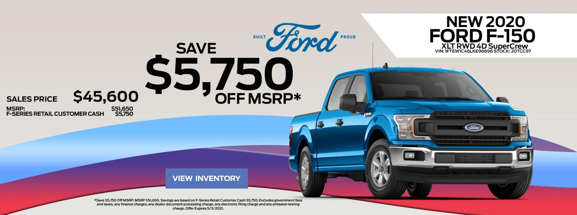 April_2021 Ford-150 Sale FF