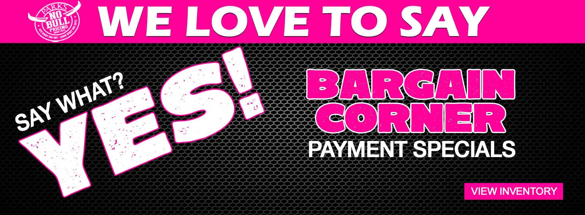 PARKS-APRIL-bargain-corner