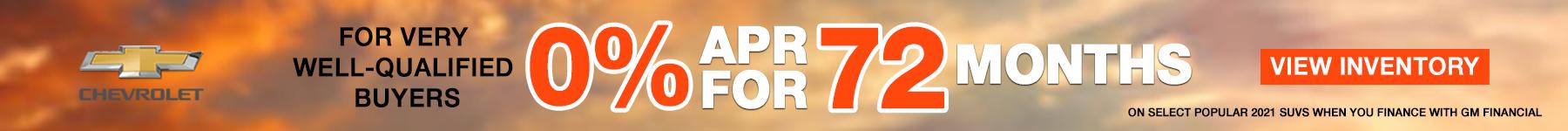 PARKS 0% APR FOR 72 MOS PENCIL