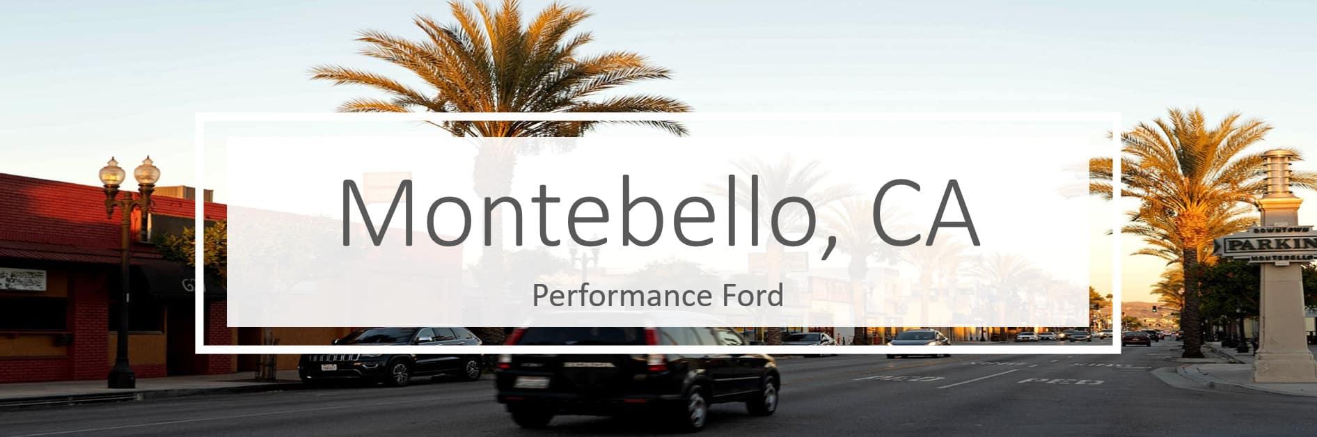 Ford Dealer in Montebello CA