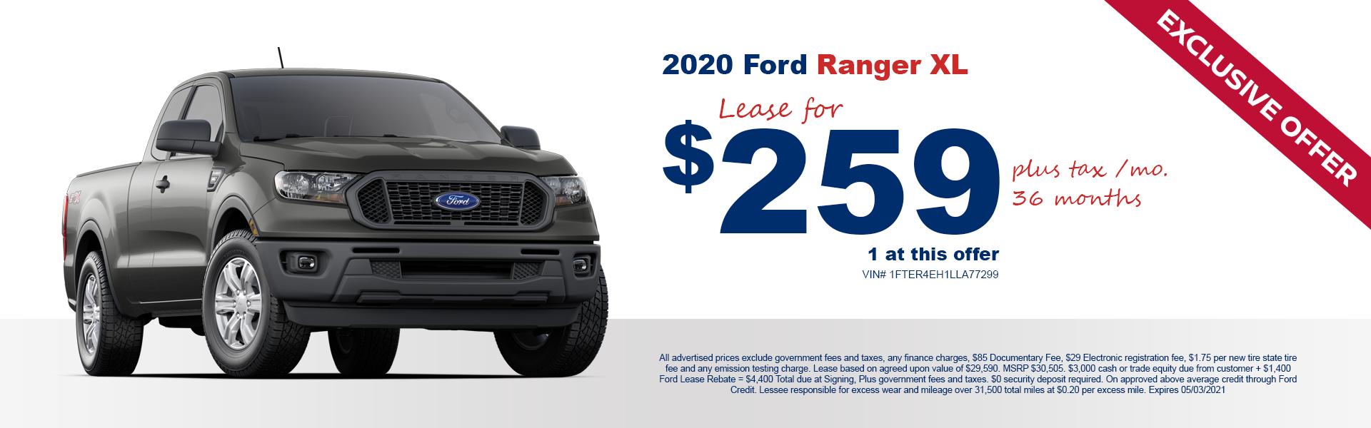 2020 Ranger Lease April 21
