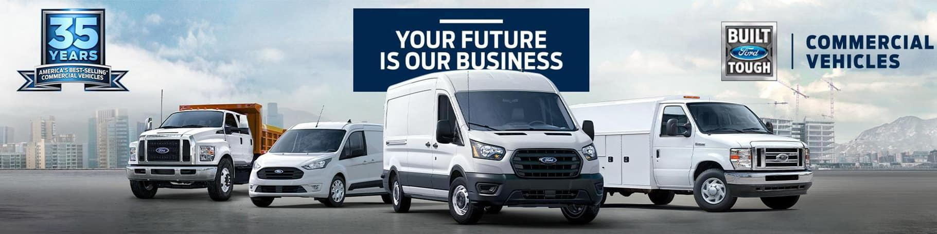 Ford Commercial Vehicles Near Los Angeles